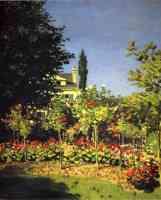 garden in flower