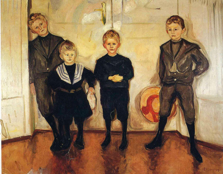 Four Children Of Dr Max Linde