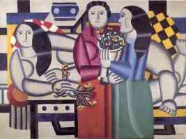 three women with flowers