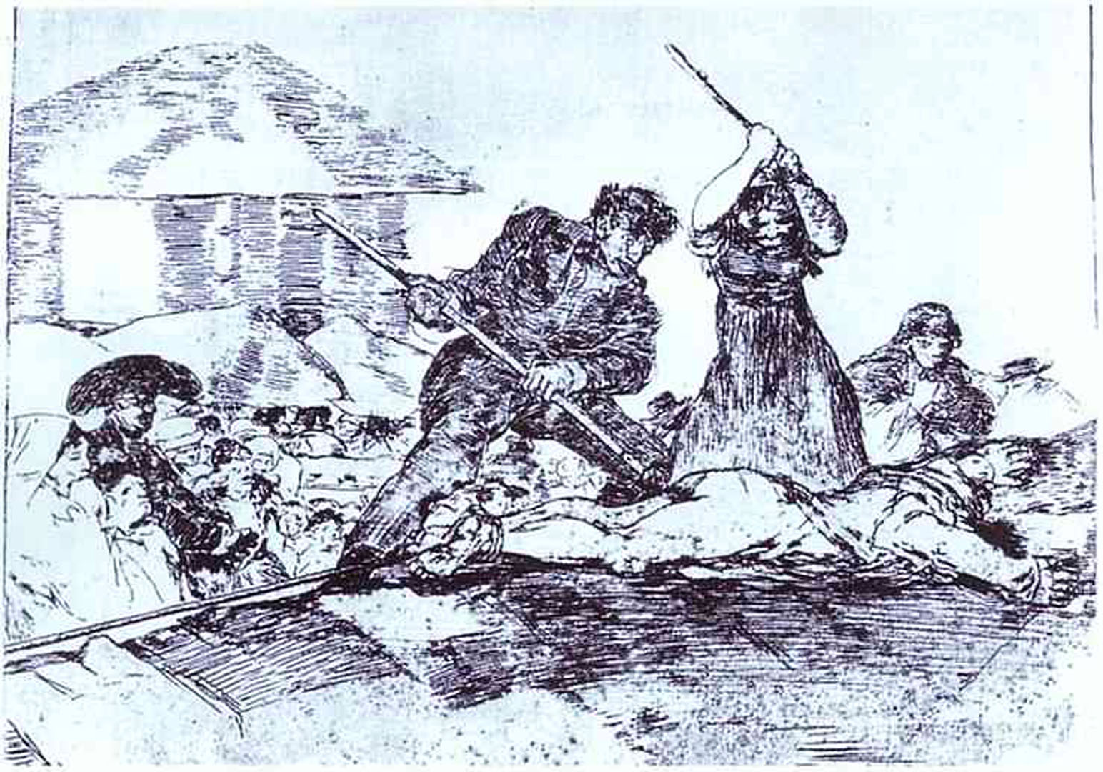 the disasters of war In his print series, the disasters of war, goya shows war, for the first time, as utterly lacking in glory his is a vision of war without the consolation of chivalry, religion without mercy, and .