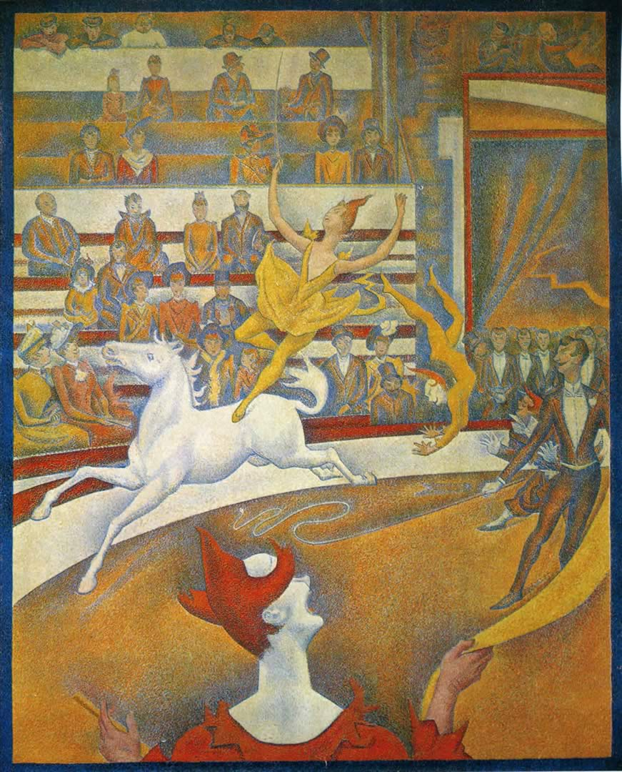 georges seurat the circus - photo #4