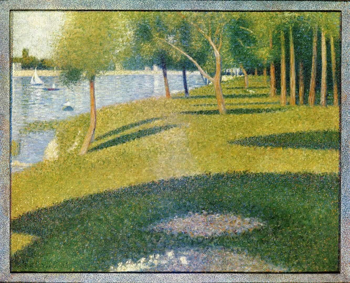 Seurat: Model, 1887 Giclee Print - Georges Seurat
