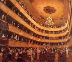 auditorium in the old burgtheater vienna