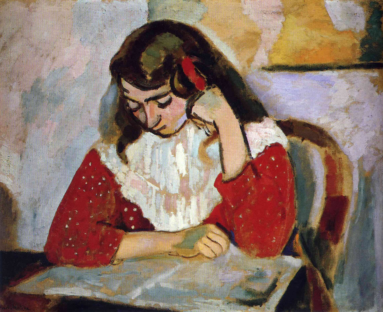 Henri Matisse Margarita Reading