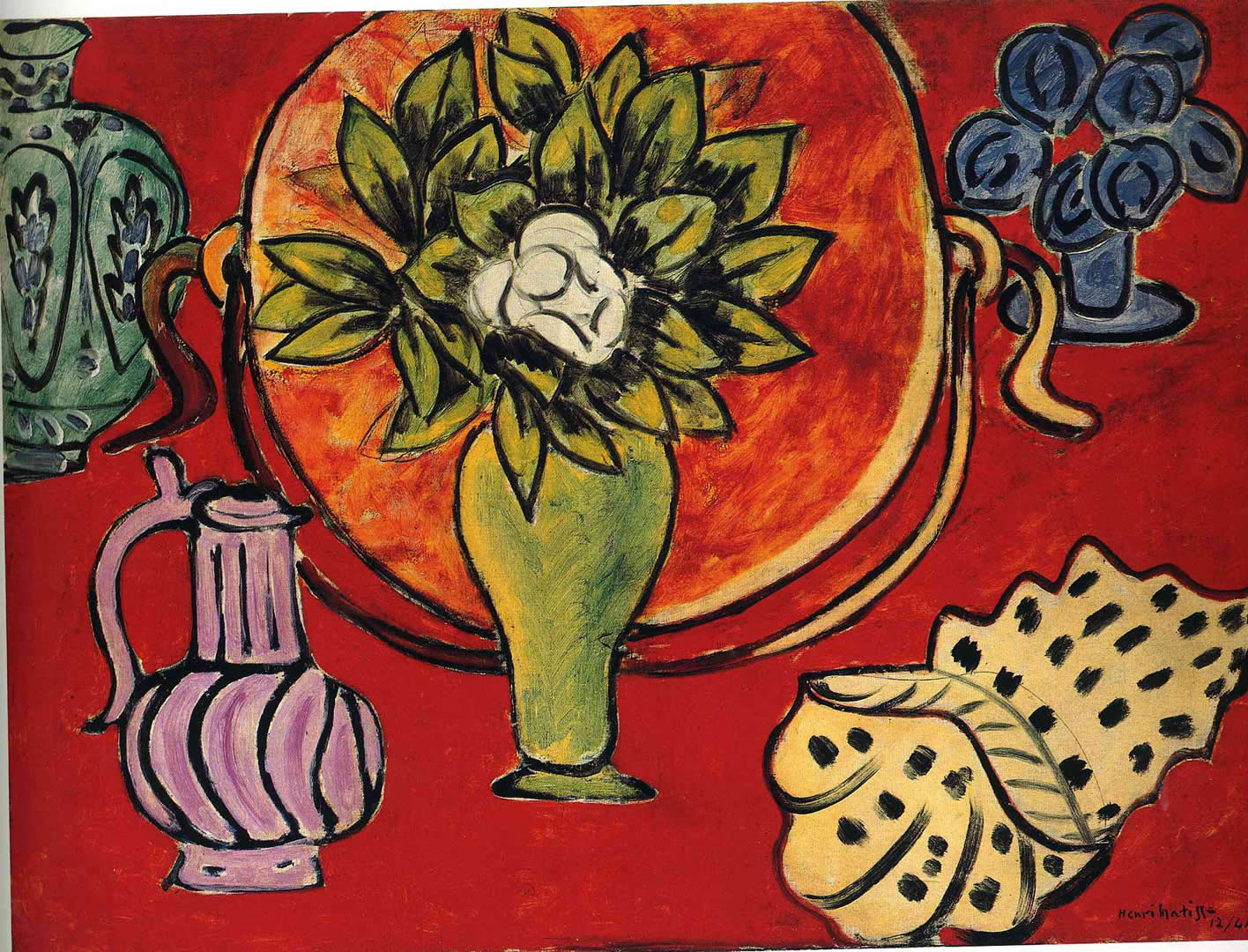 still life with magnolia henri matisse wallpaper image