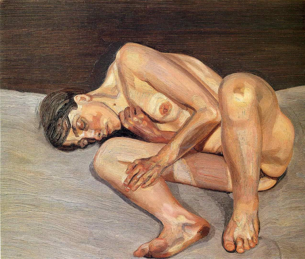 Lucian freud naked portrait opinion you