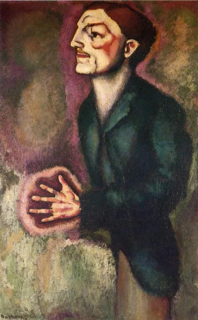 Portrait Of Dr R Dumouchel