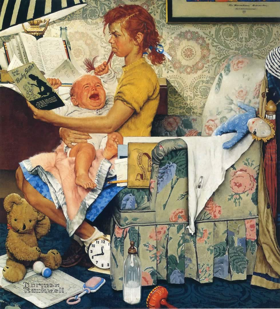 Norman Rockwell Paintings Wallpapers Gallery - page 1