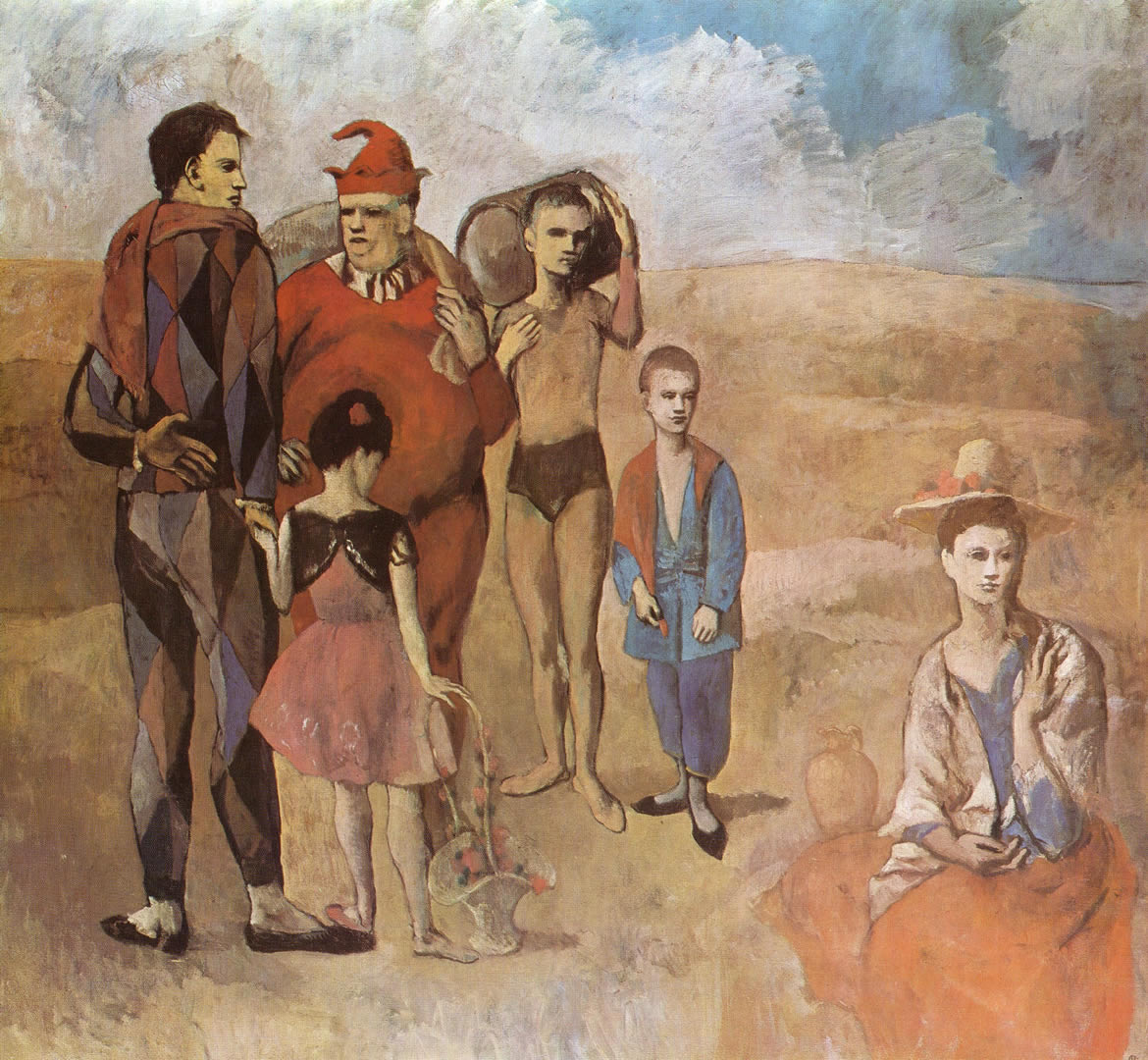 Family Of Saltimbanques 1905