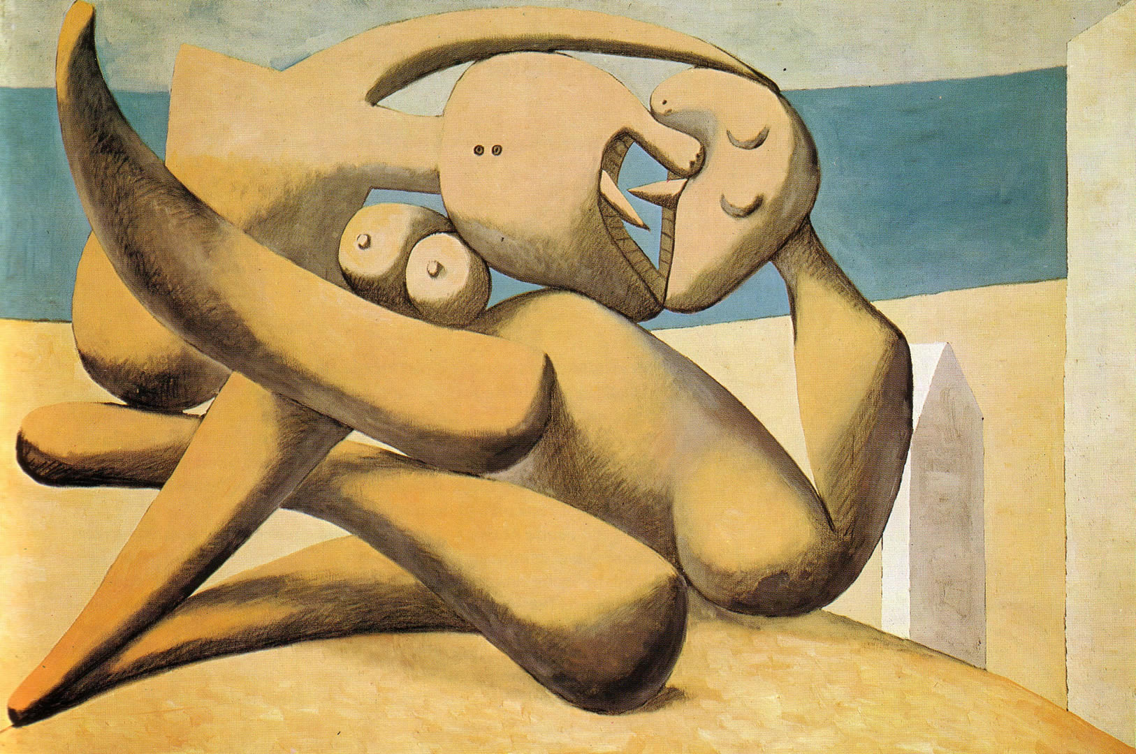 Figures By The Sea The Kiss 1931