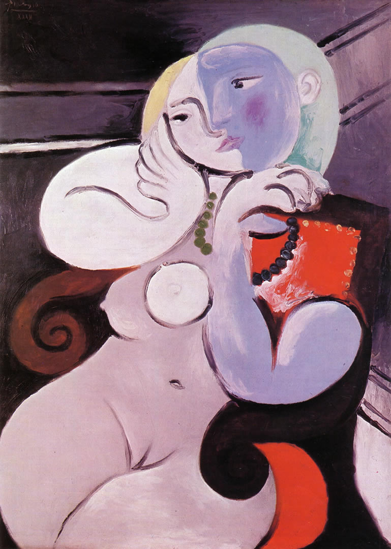 Nude Woman In A Red Armchair 1932