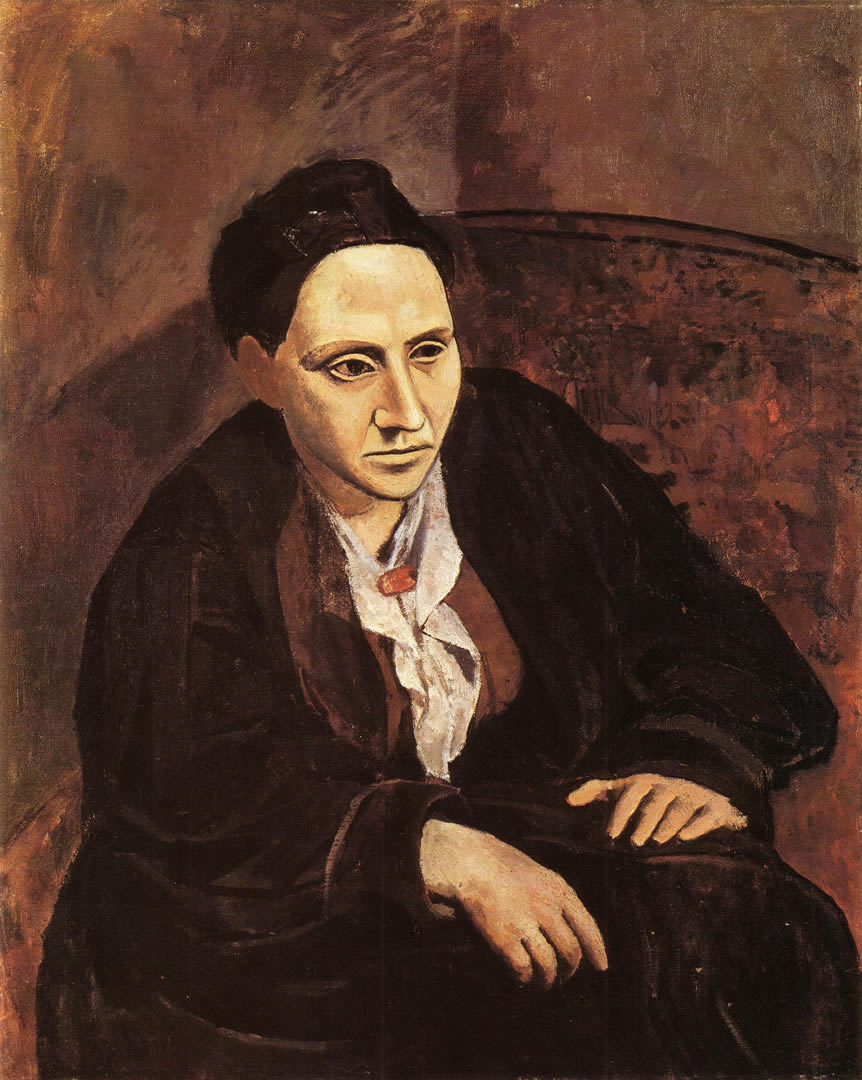 Portrait Of Gertrude Stein 1905 6