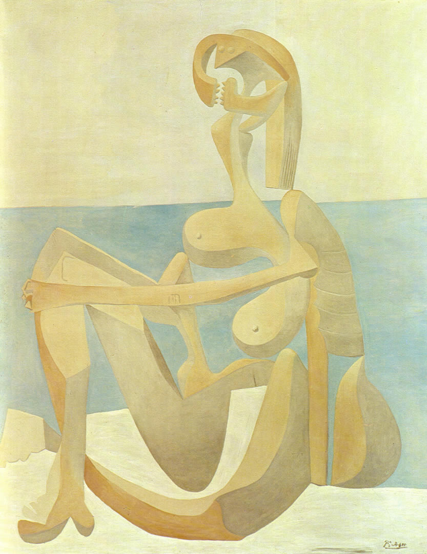Seated Bather 1930