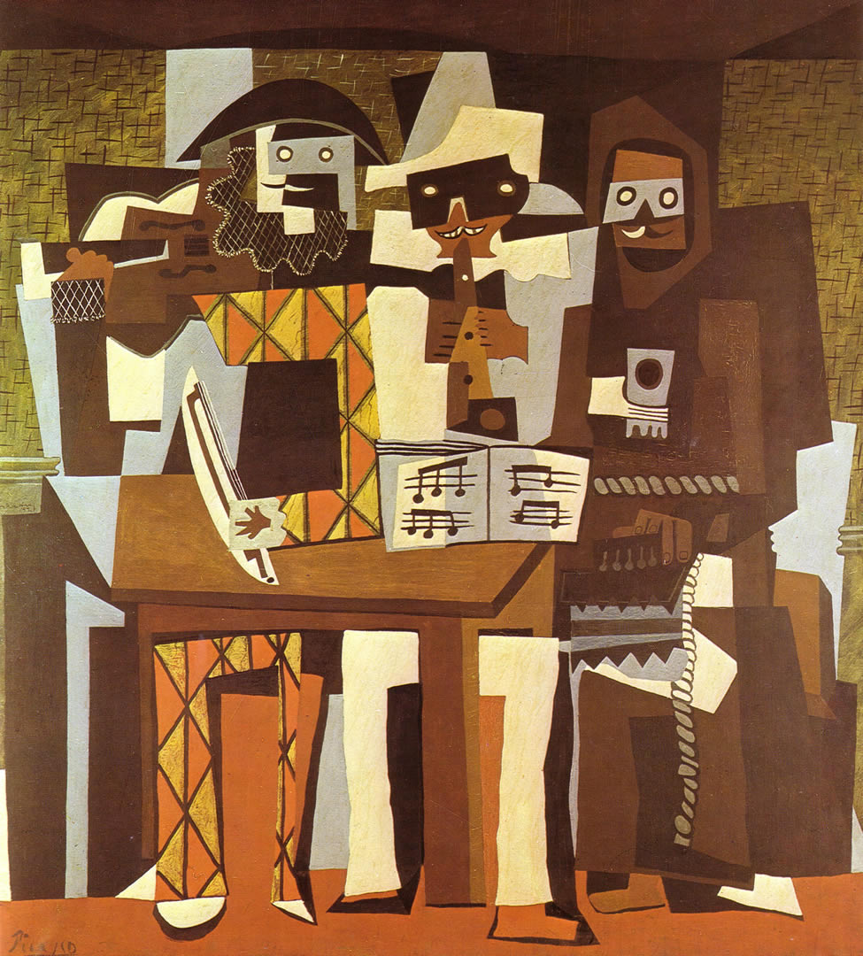 Three Musicians 1921
