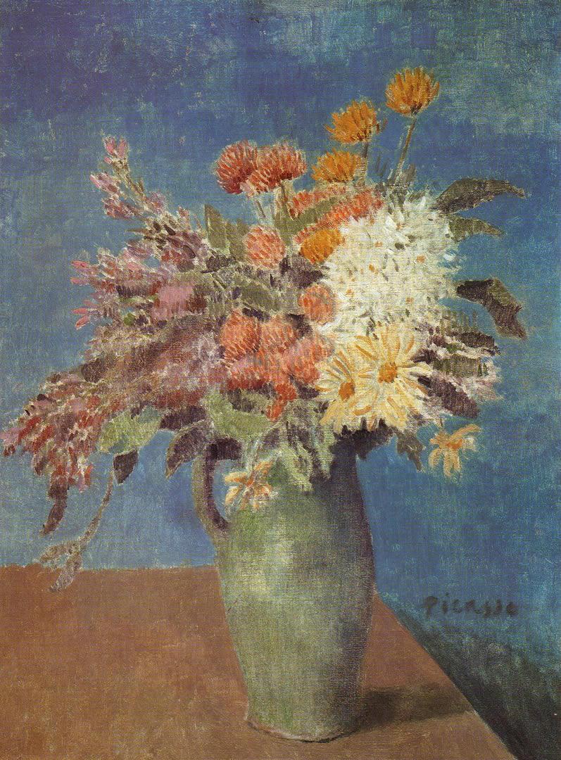 Vase Of Flowers 1901