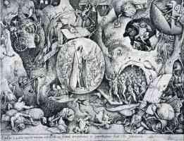 drawing of jesus visiting hell