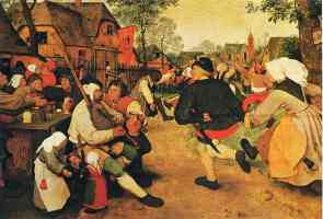 the peasant dance