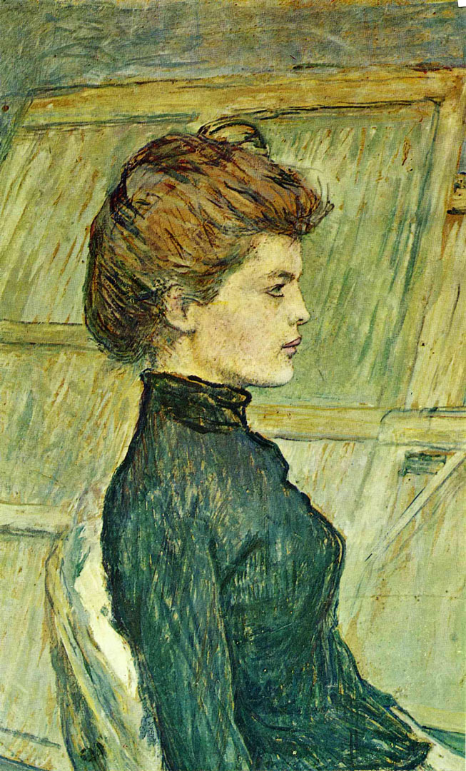 portrait of helen toulouse lautrec wallpaper image