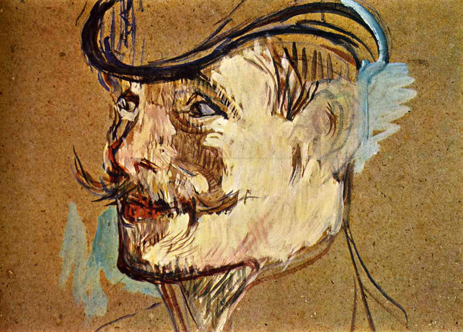 portrait of william warrener toulouse lautrec wallpaper