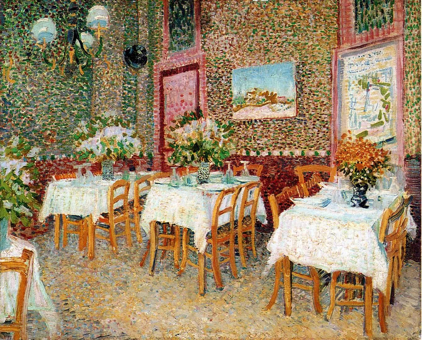 Interior Of A Restaurant 1