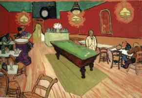 the night cafe in arles