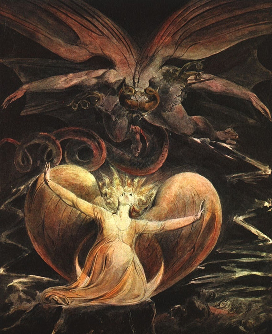 The Great Red Dragon And The Woman Clothed With Sun