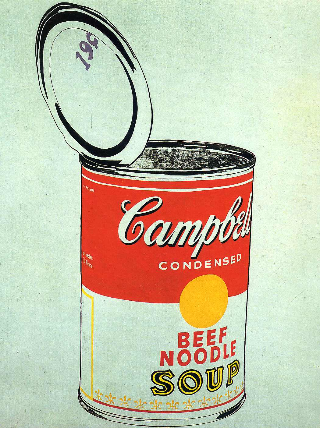 02e959cee3f5 open can of campbells soup - andy warhol wallpaper image