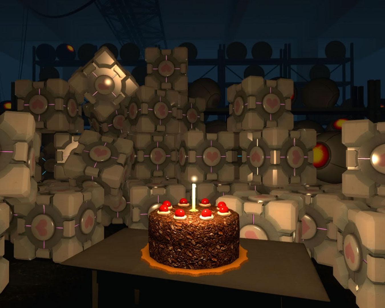 Cake And A Thousand Companion Cubes