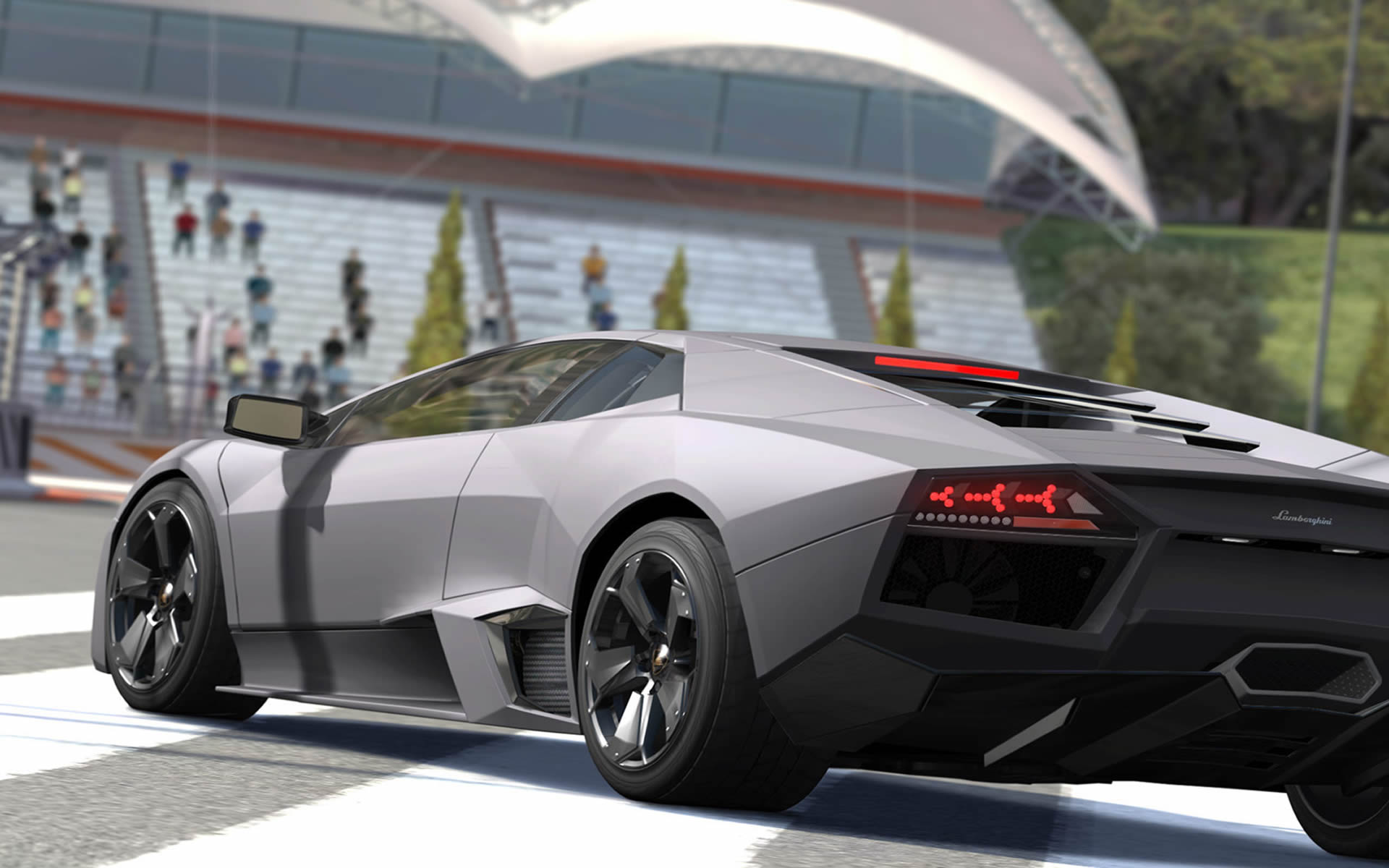 Carbon Grey Lamborghini