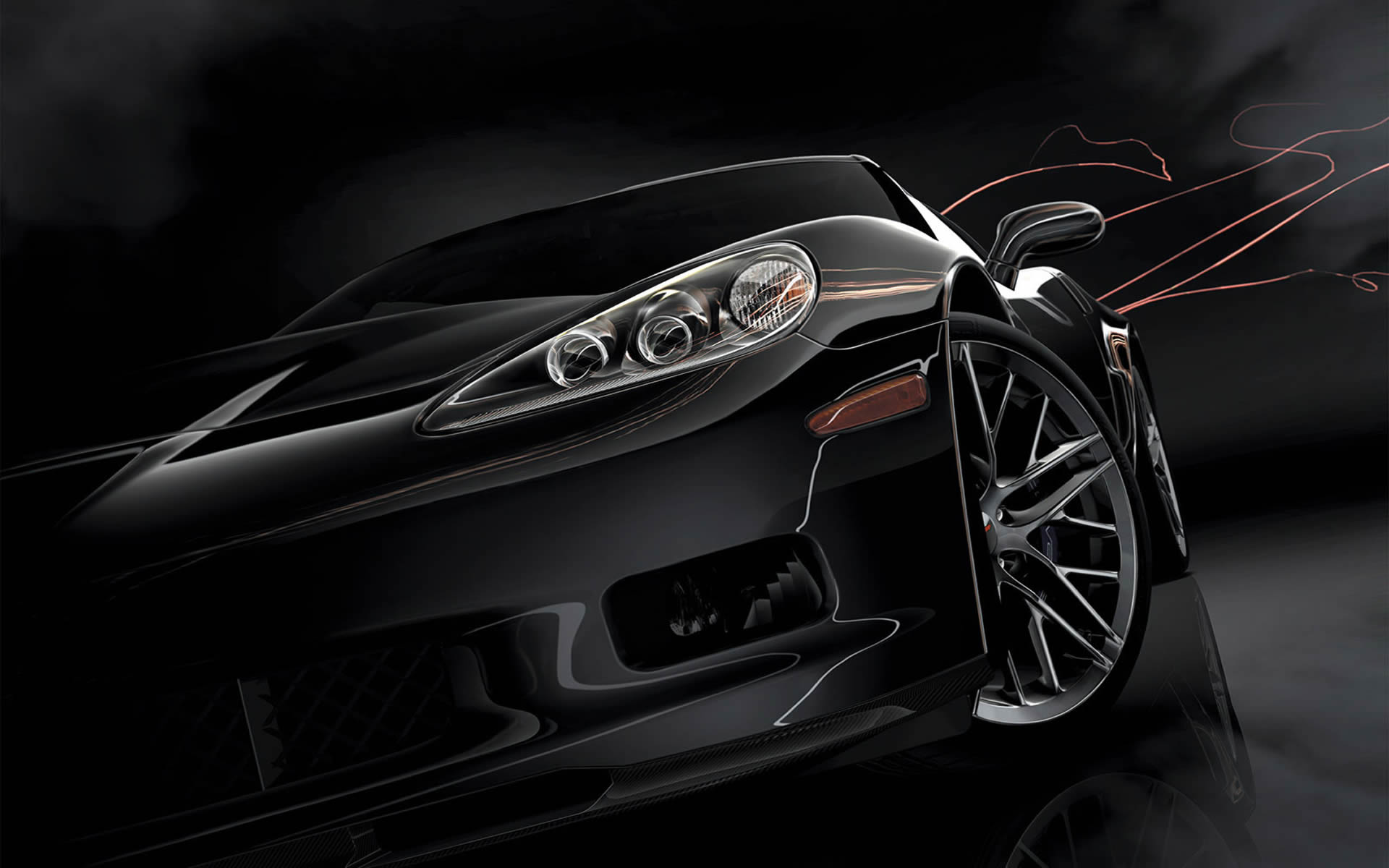 Black Car  Racing Games Wallpaper Image featuring Gran Turismo 5