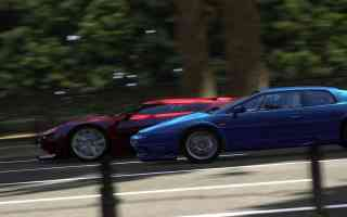 race blur