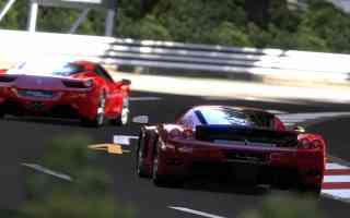 racing ferraris
