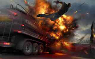 launched from exploding tanker