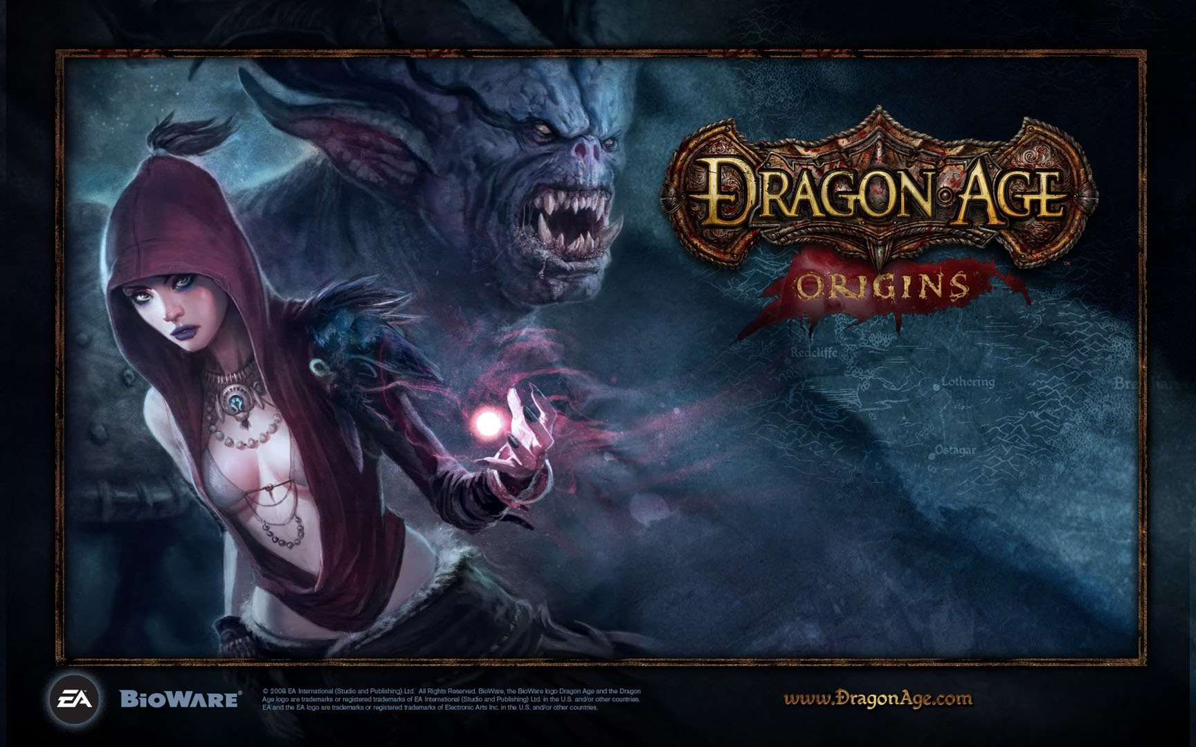 Dragon Age Bioware Video Games Rpg Fantasy Art: Dragon Age Wallpaper