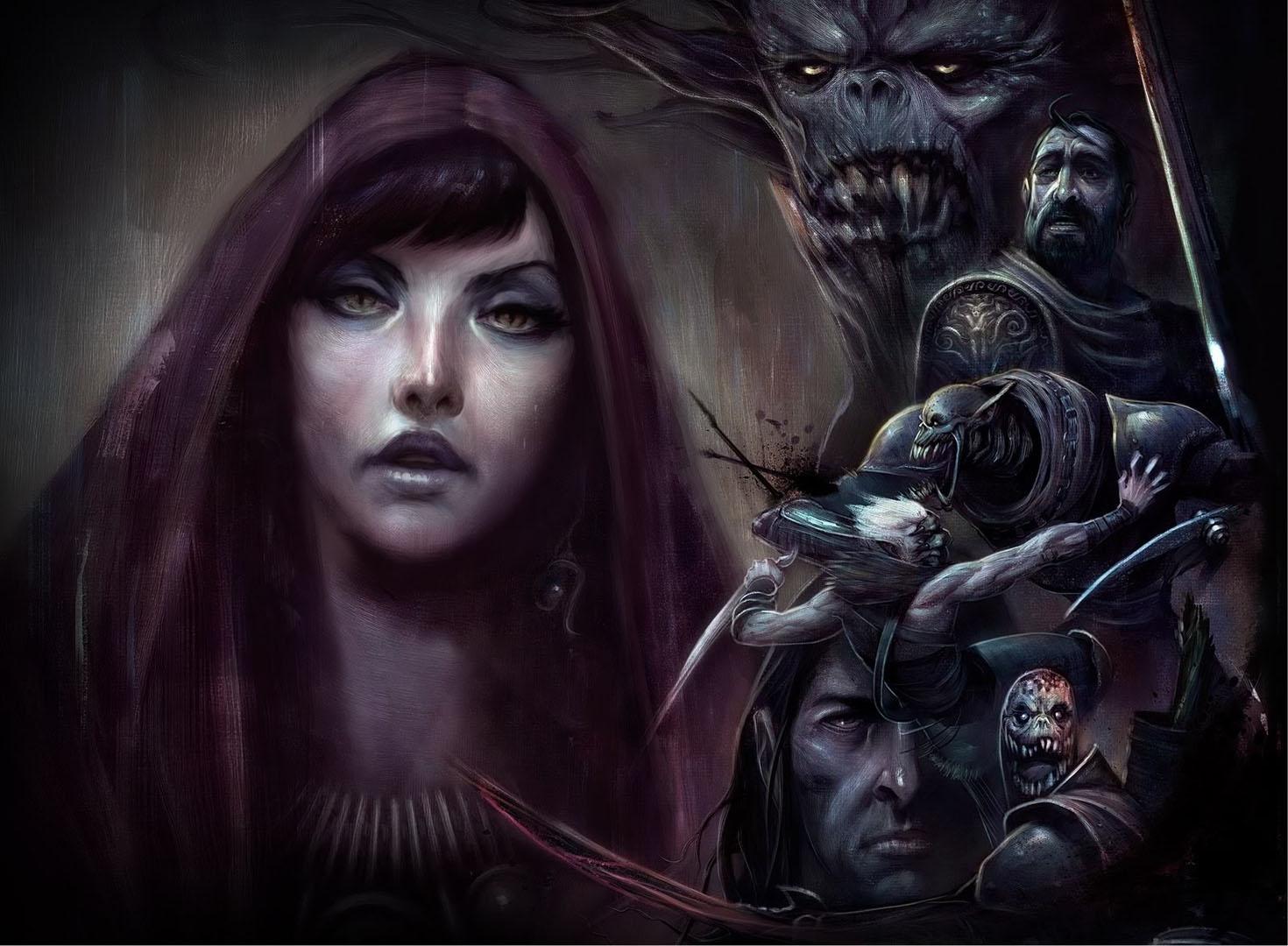 Morrigan The Dark Mage - Dragon Age Wallpaper