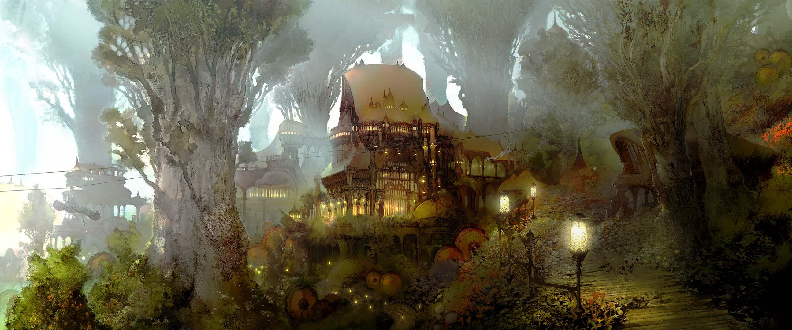 Dual Screen Forest Citadel