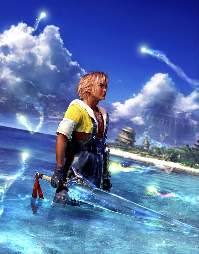 Tidus Standing In The Water