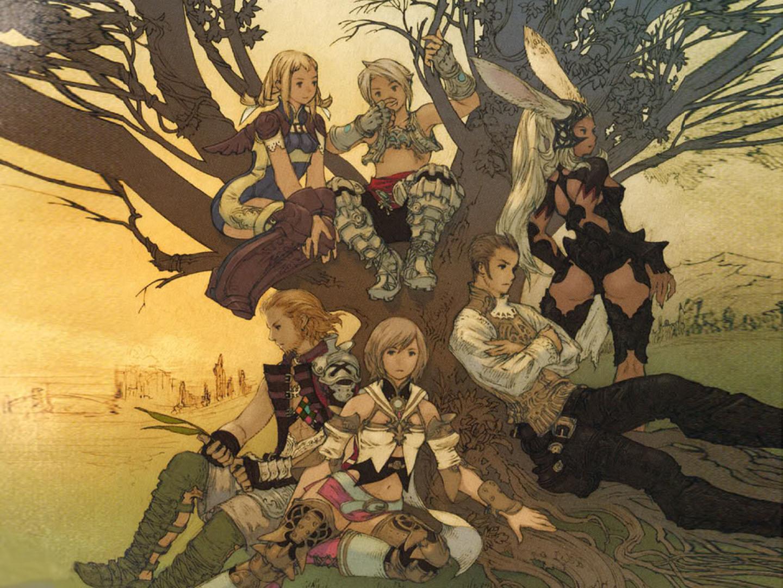 Cast Of Ff XII Sitting Around A Tree
