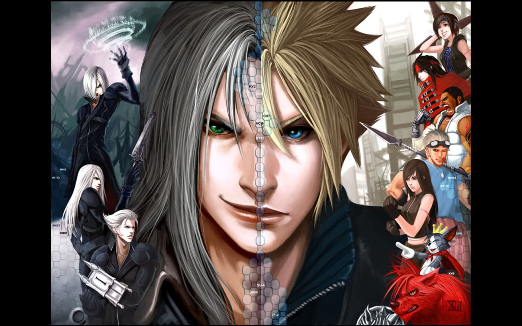 Sephiroth And Cloud Separated At Birth