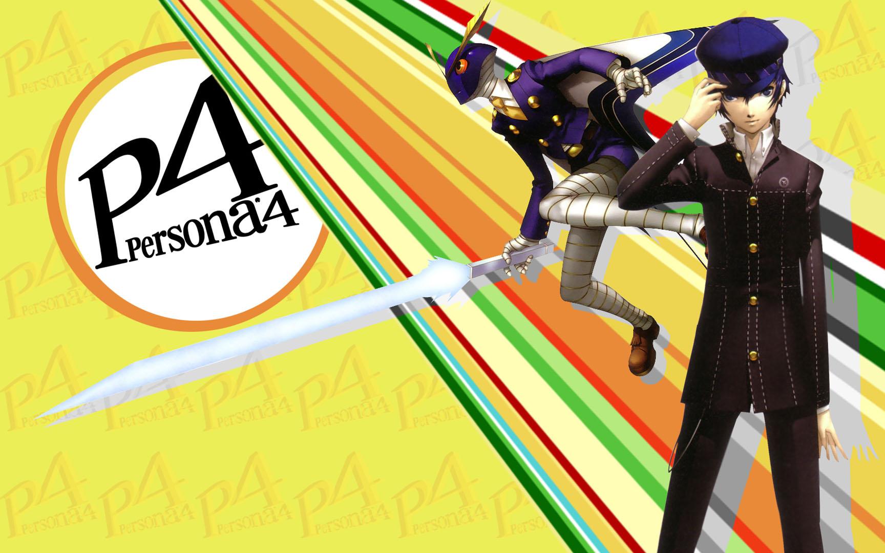 Naoto And His Persona Persona 4 Wallpaper