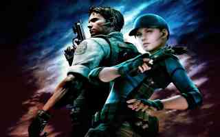 chris redfield and jill valentine