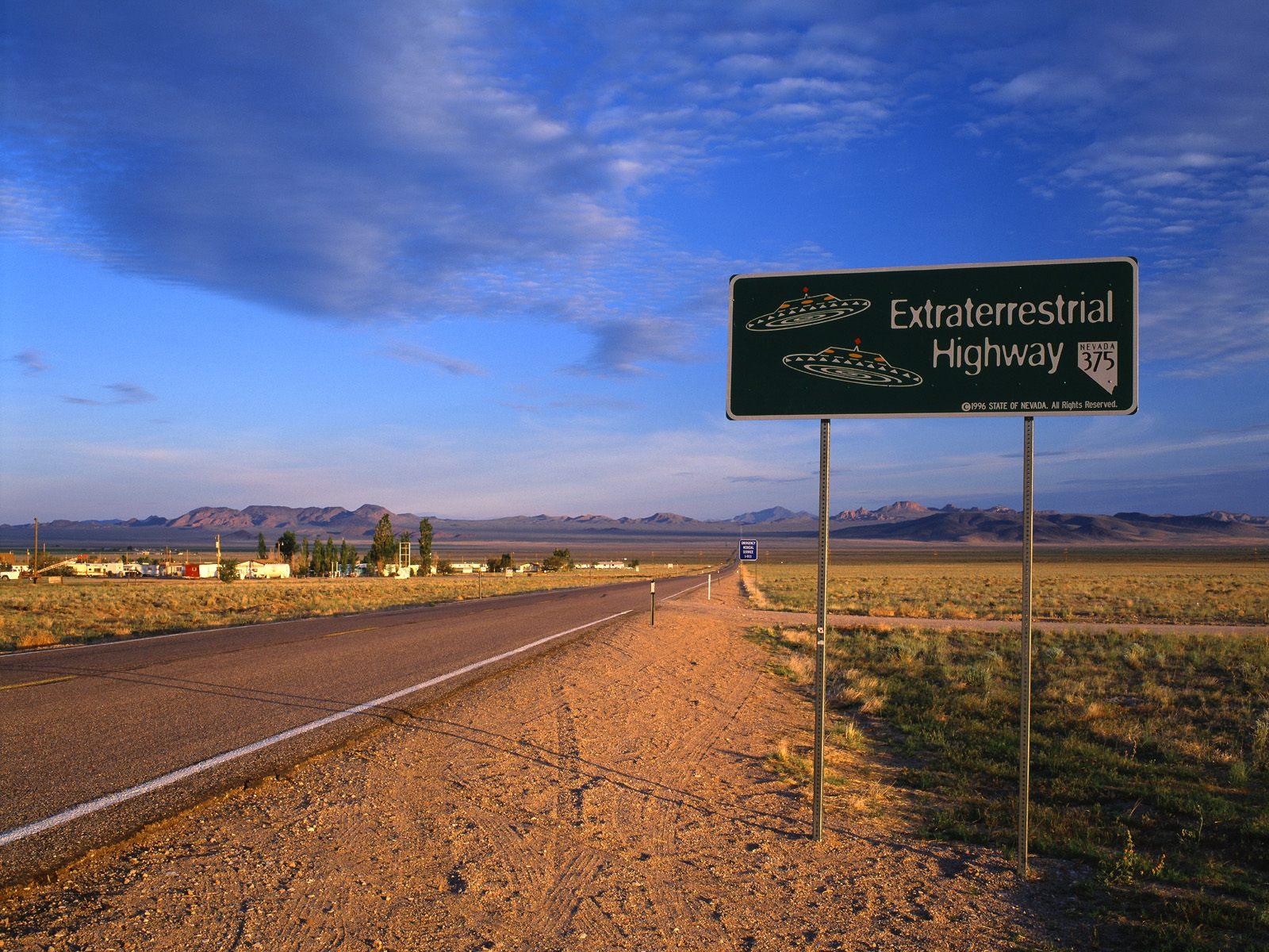 The ET Highway Rachel Nevada