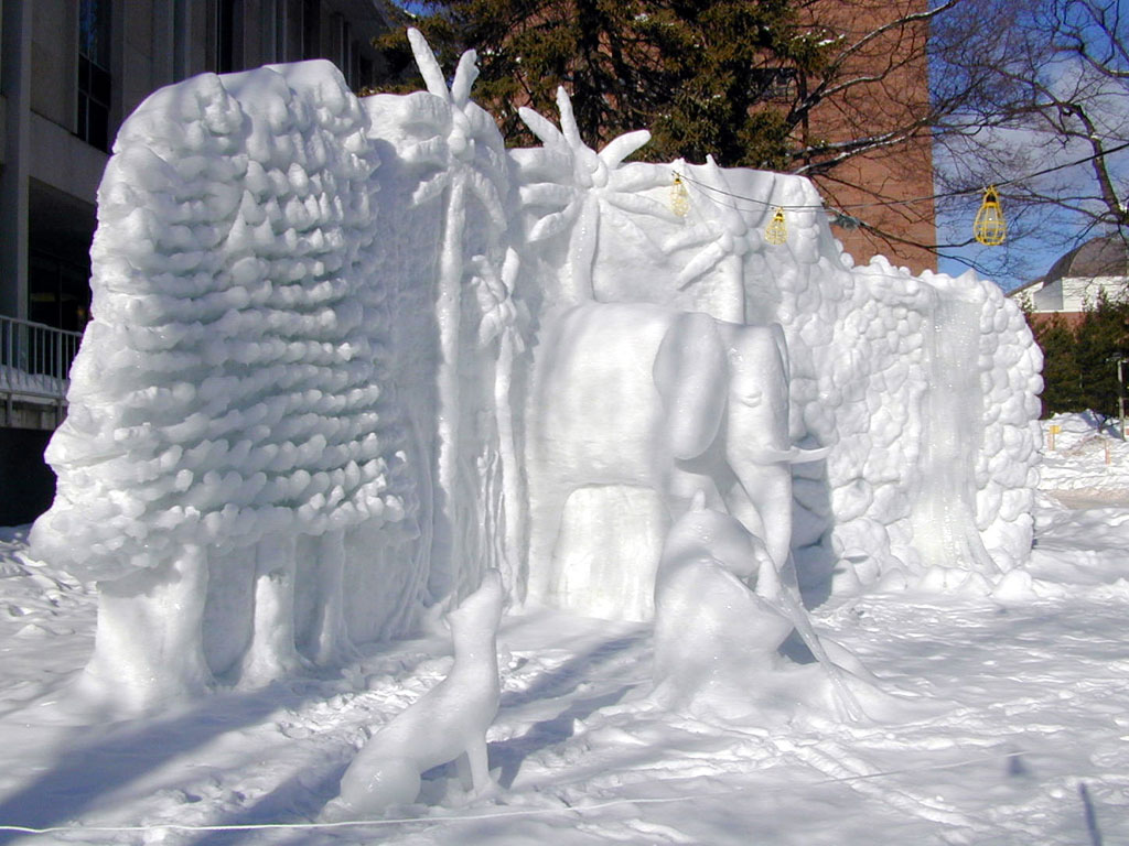 amazing ice sculpture wallpapers - photo #42