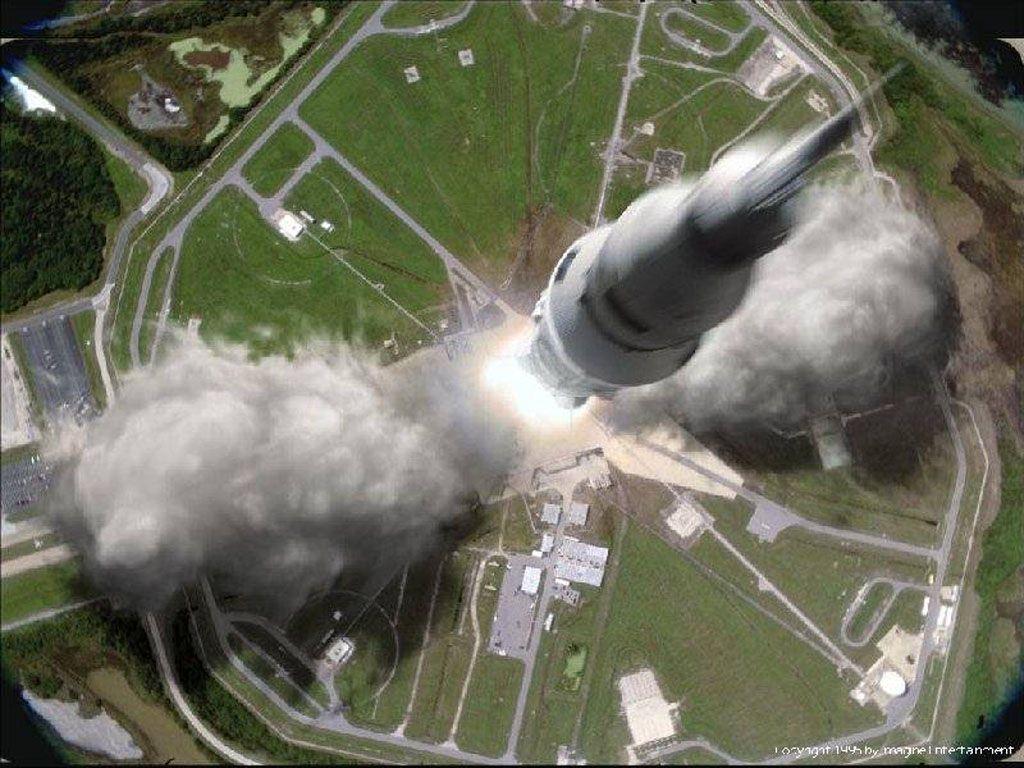 Apollo 13 Takeoff