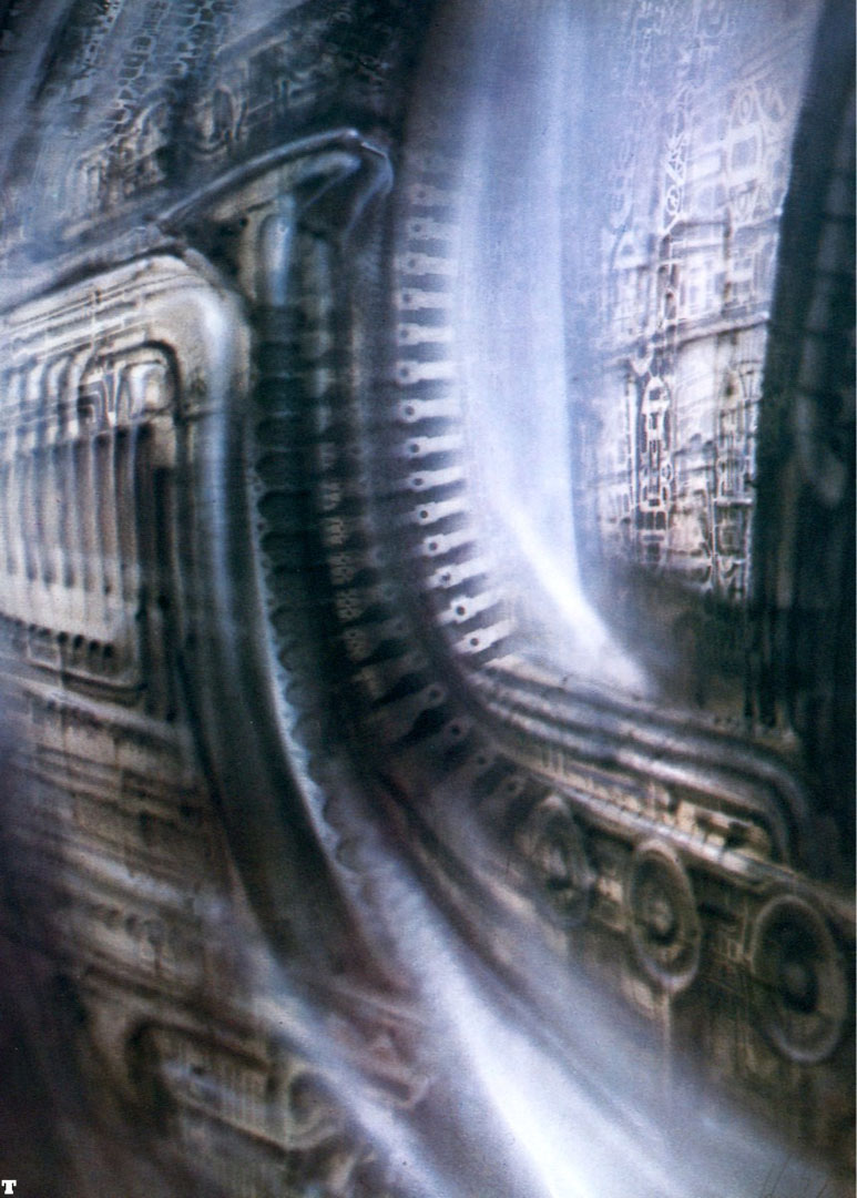 Biomechanical Landscape 002 - Science Fiction H R Giger