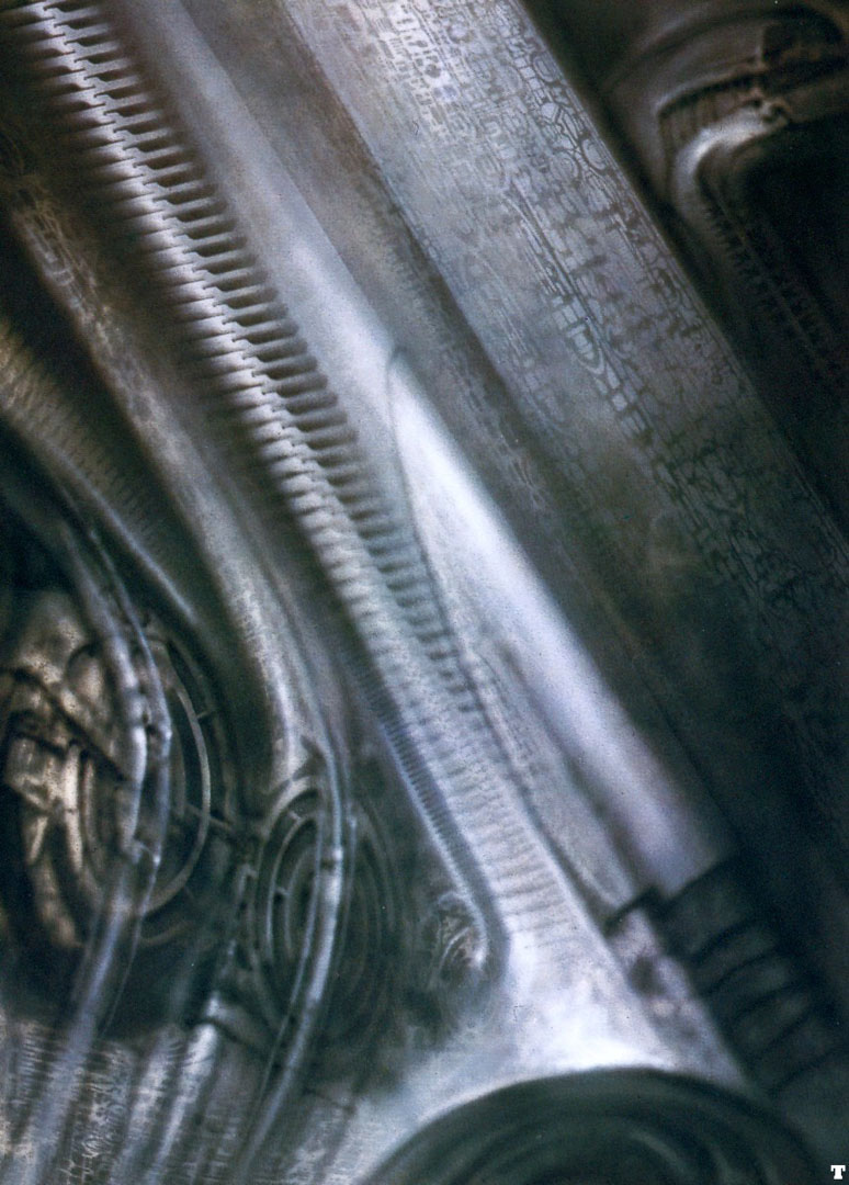 Biomechanical Landscape 003 - Science Fiction H R Giger