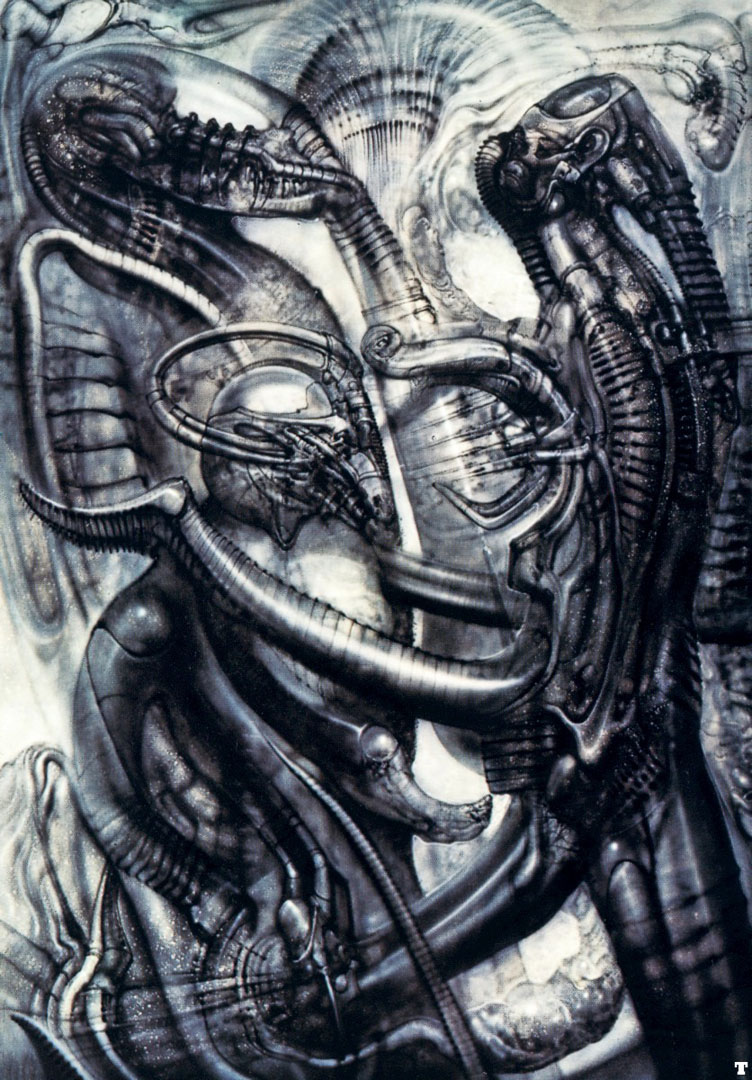Hr Giger Tattoo Designs