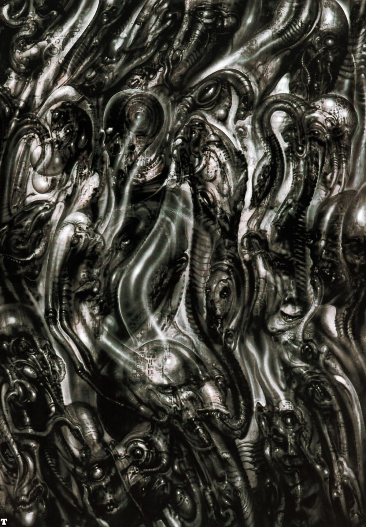 Biomechanical Landscape 012 - Science Fiction H R Giger