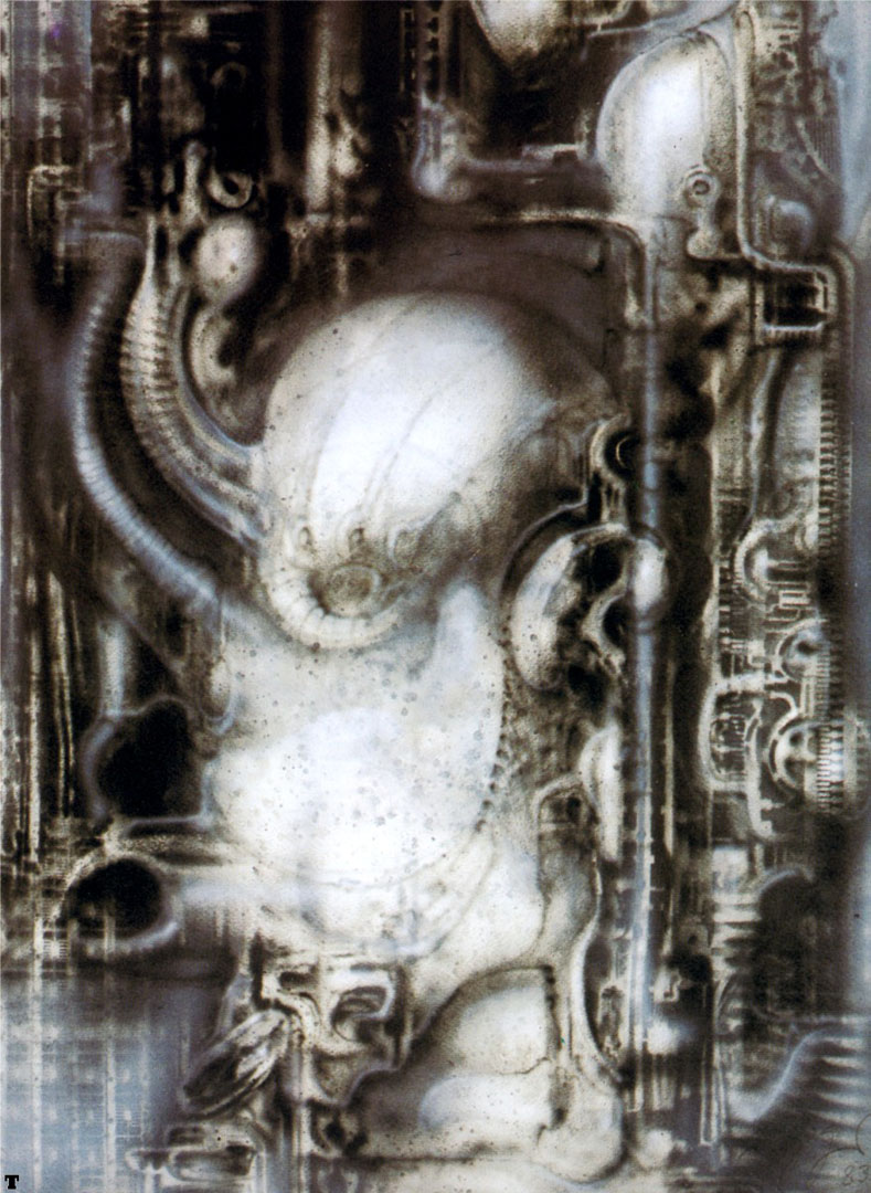 Biomechanical Landscape 014 - Science Fiction H R Giger