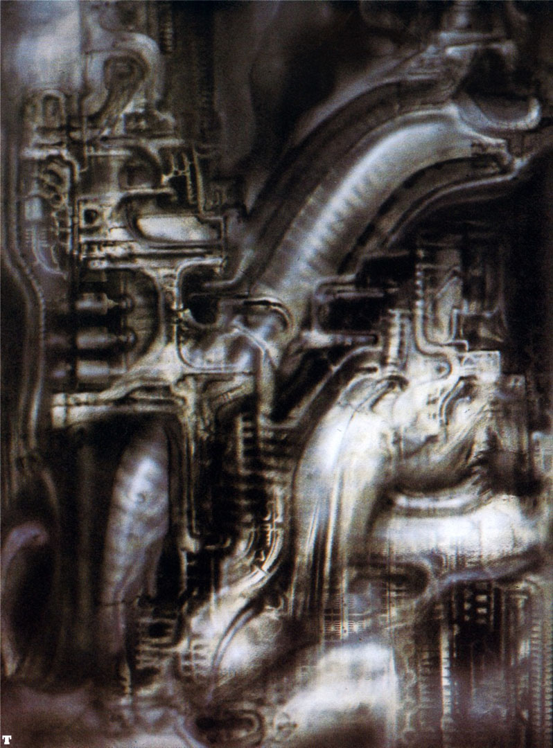 Biomechanical Landscape 016 - Science Fiction H R Giger
